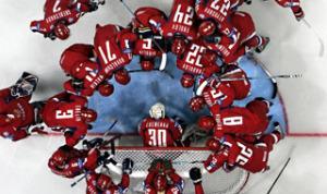 APTOPIX RUSSIA ICE HOCKEY WORLD CHAMPIONSHIPS